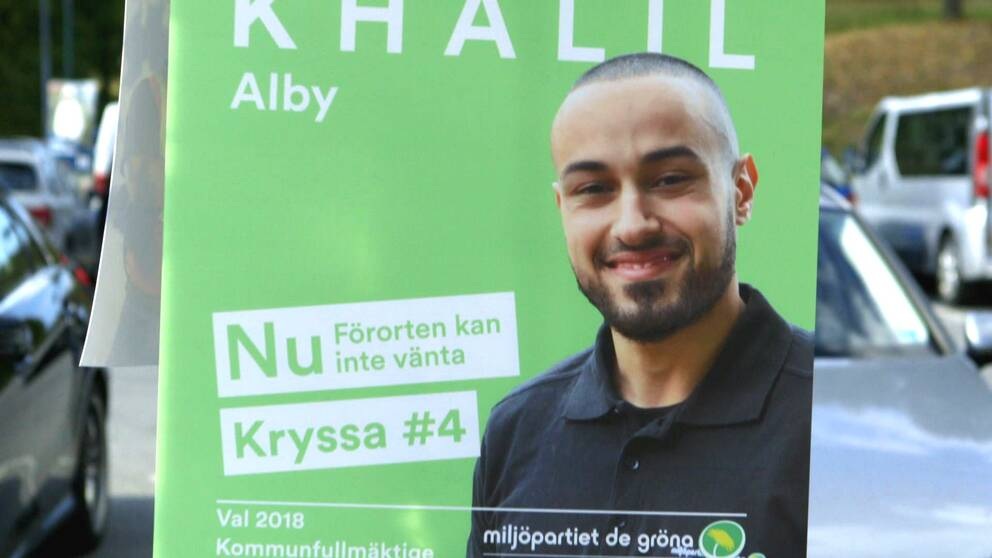 Valaffisch med Ali Khalil