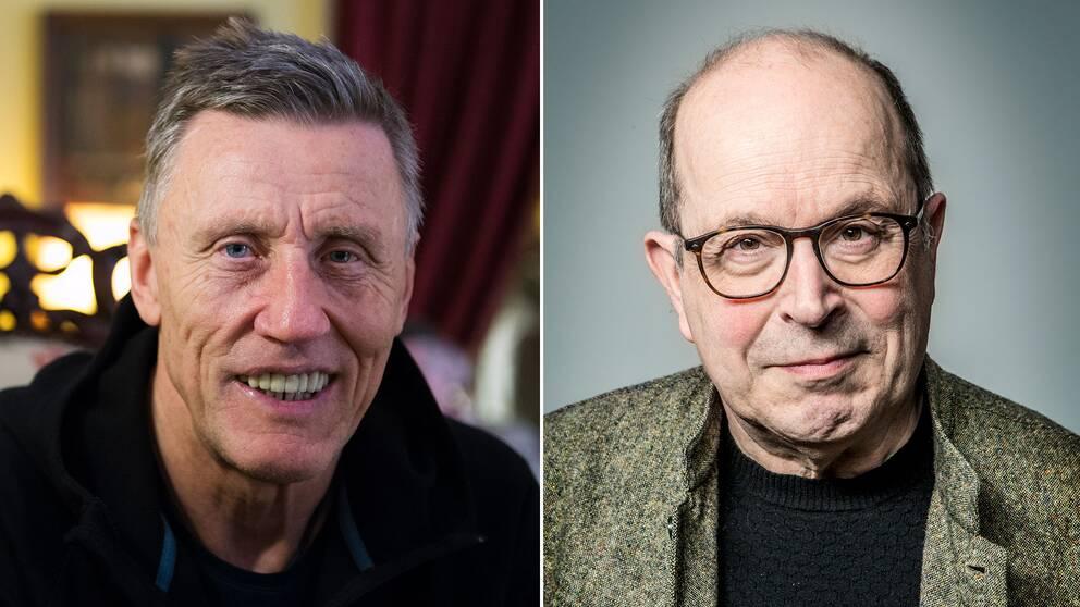 Varken Börje Salming eller Jan Scherman har godkänt att deras namn står med i uppropet.