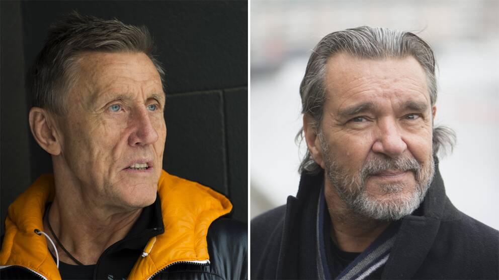 Börje Salming och Kjell Bergqvist.