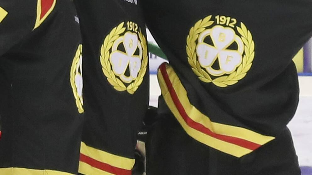 En bild på Brynäs matchtröjor. Arkiv.