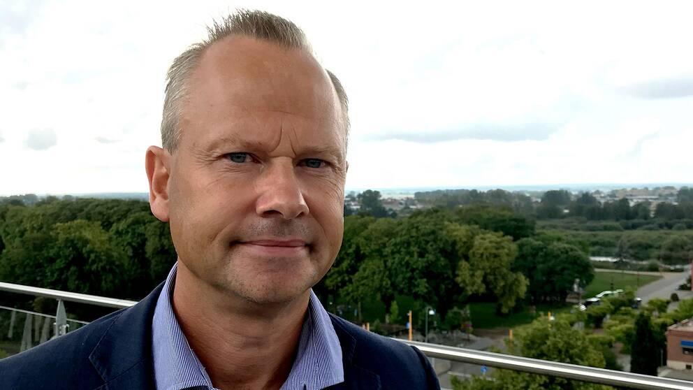 Patrik Jönsson, Sverigedemokraternas regionråd i Skåne.