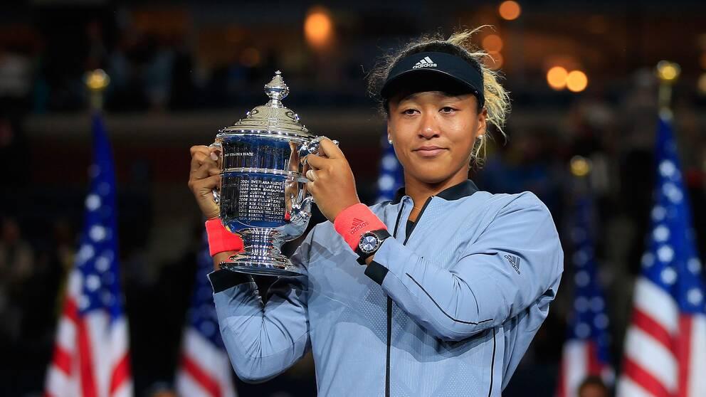 Naomi Osaka, 20, vann US Open-finalen