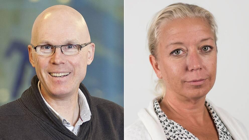 Jonas Hinnfors och Elisabeth Marmorstein.