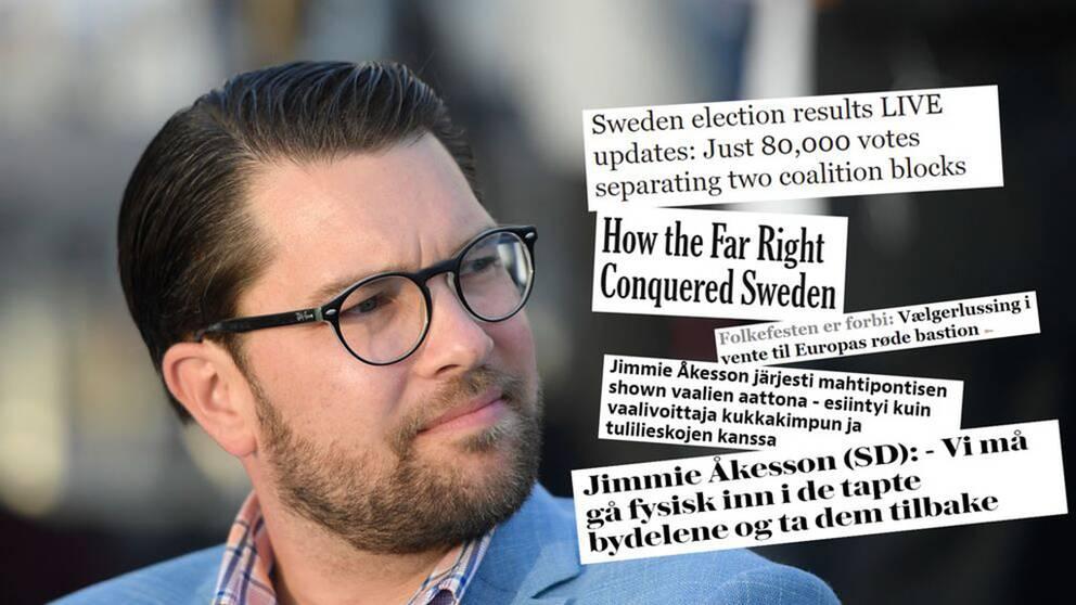 Stort intresse utomlands för valet