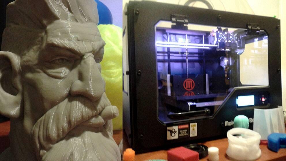 Leksaker i grälla färger är bara en av de saker man kan skriva ut med en 3D-printer.
