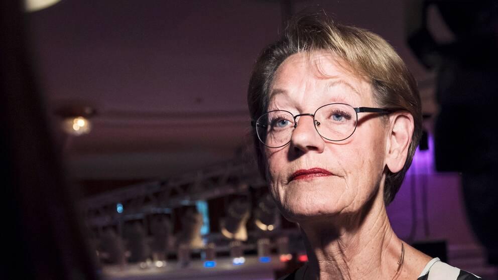 """""""Vi fortsätter, vi är otroligt modiga och nu har vi byggt organisationen"""", säger Gudrun Schyman efter FI:s tillbakagång."""