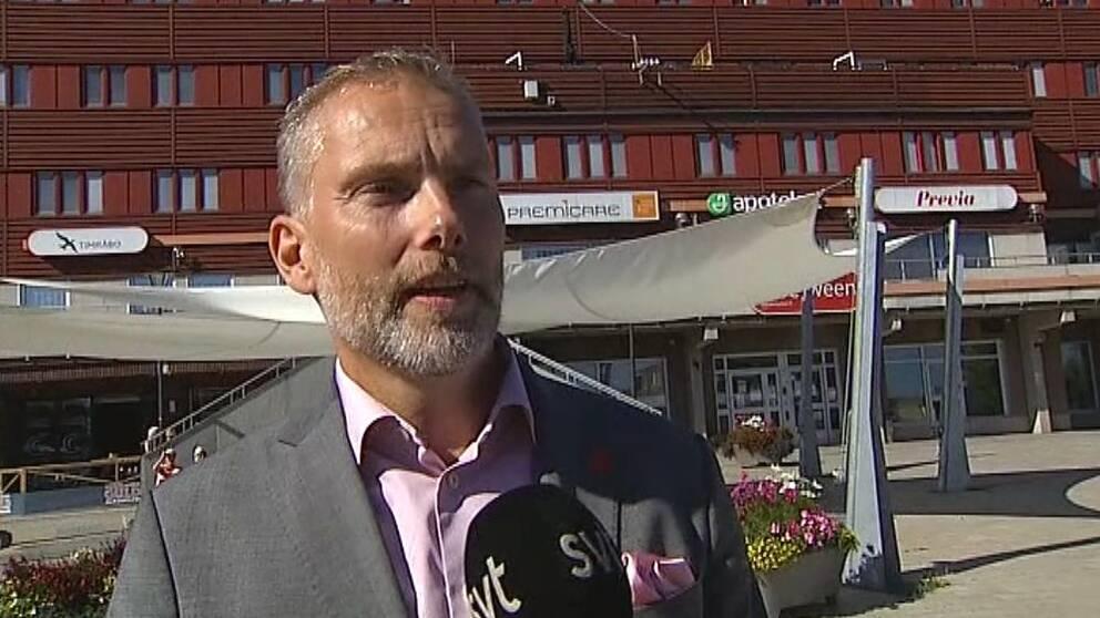 Stefan Dalin (S), blivande kommunalråd i Timrå.
