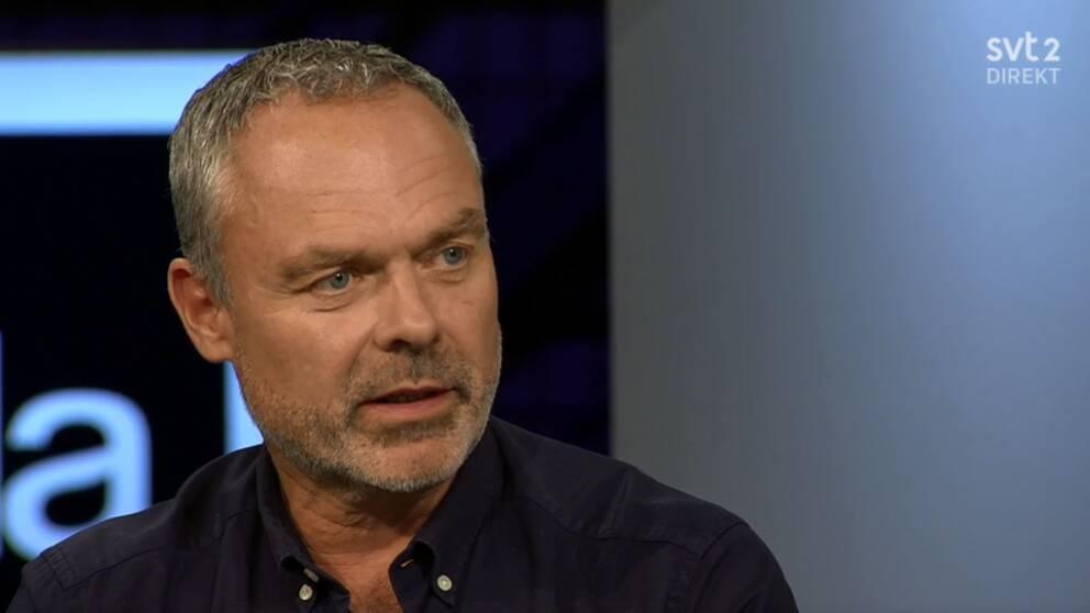 Jan Björklund i SVT:s Agenda