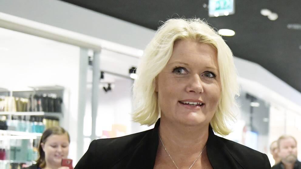 Lena Rådström Baastad, Socialdemokraternas partisekreterare.
