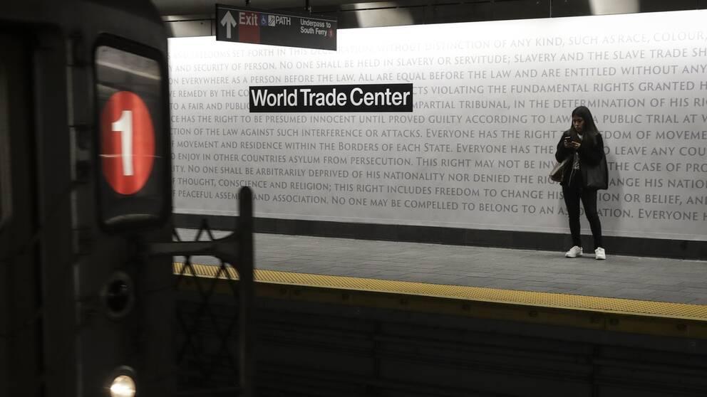 Tunnelbanan vid World Trade Center har öppnat igen.