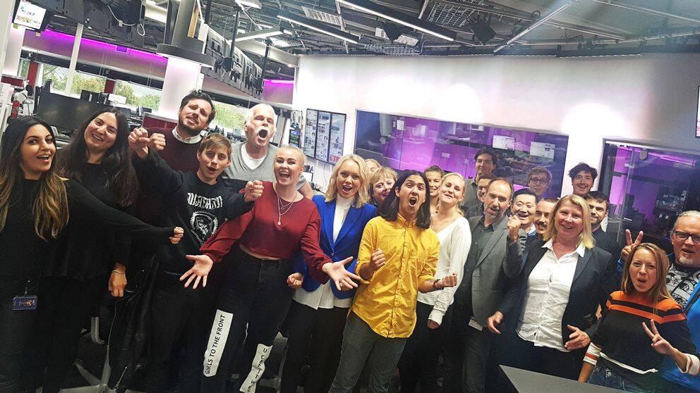 2,9 miljoner unika webbläsare besökte SVT:s sajt under valdagen.