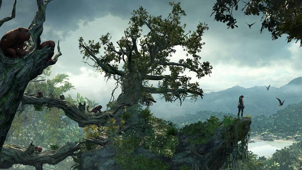 Perus djungler bjuder på den största spelvärlden någonsin i Tomb Raider.