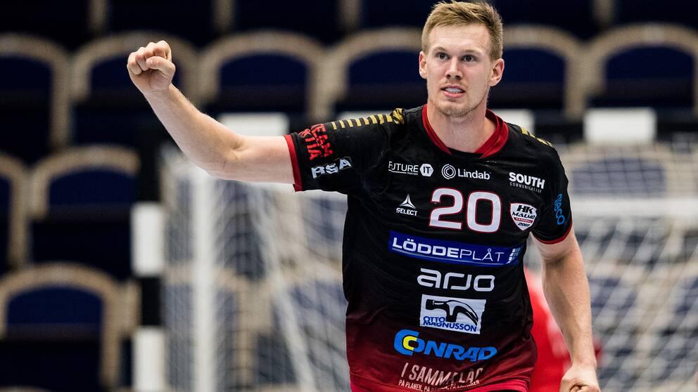 Adam Lönn klev fram för Malmö.