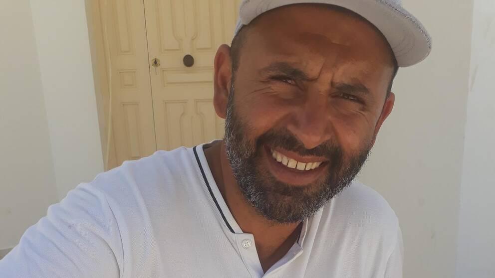 Anis Ghazala bor i Stockholm och är släkt med den fängslade fiskaren Chamseddine Bourrassine.