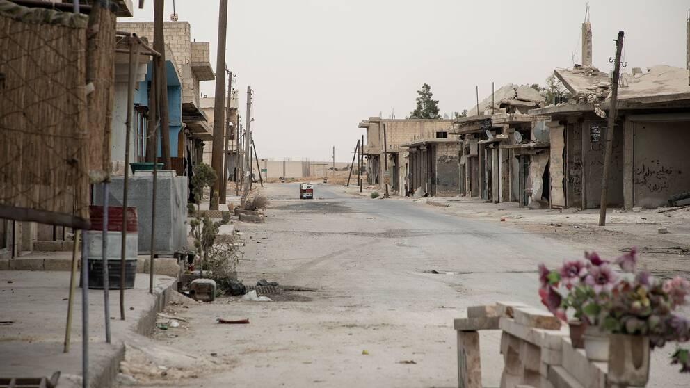 Sinjar i Idlib-provinsen i Syrien