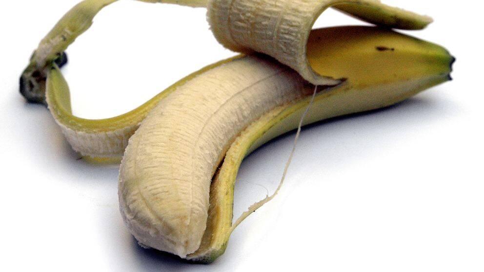 En skalad banan.