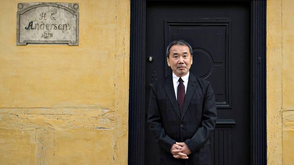 Japanske författaren Haruki Murakami.