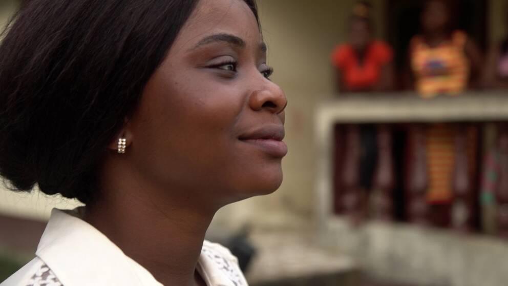 Katu Samu överlevde ebola.