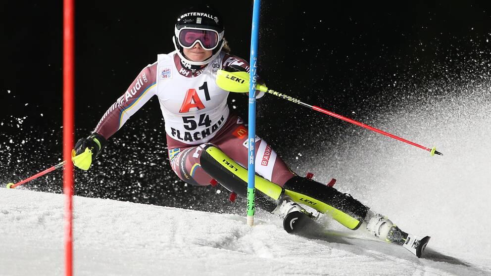 Nathalie Eklund under världscupen förra säsongen.