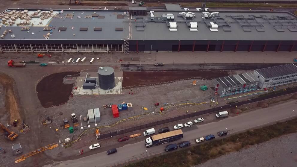 Amazon bygger serverhallar i Katrineholm.