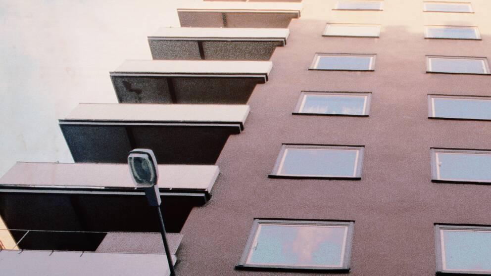 Ett bostadsrättshus