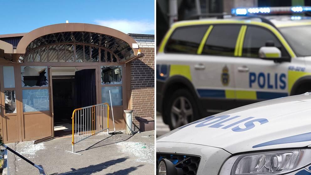 Polisen hittade ingen bomb pa vardcentralen
