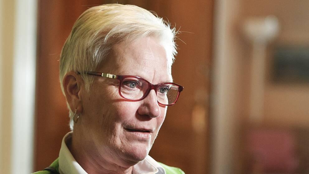 Åsa Lindestam är Socialdemokraternas kandidat till talmansposten.
