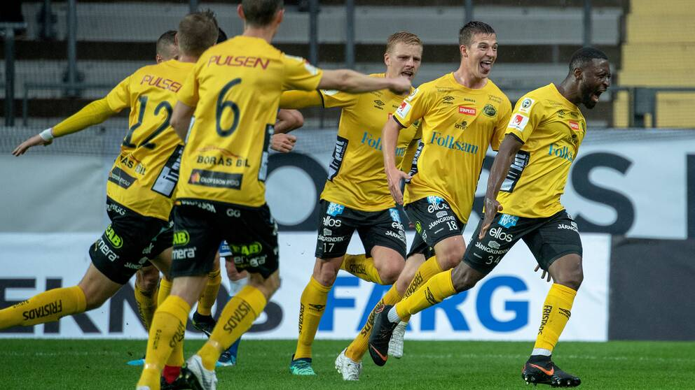 Elfsborg tog tredje raka segern