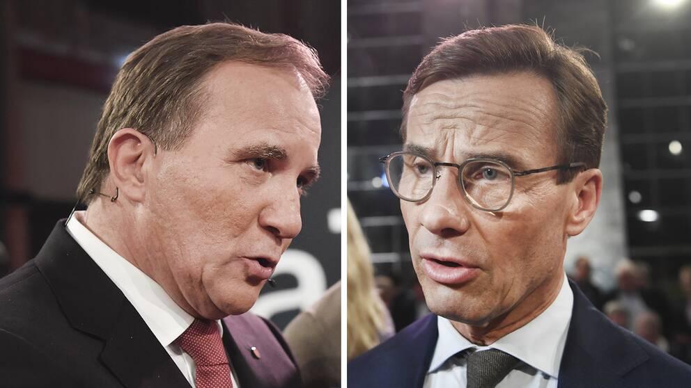 Socialdemokraternas Stefan Löfven och Moderaternas Ulf Kristersson är två av nyckelpersonerna i spelet om regeringsmakten