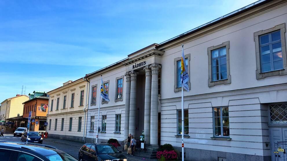 Rådhuset i Karlshamn.