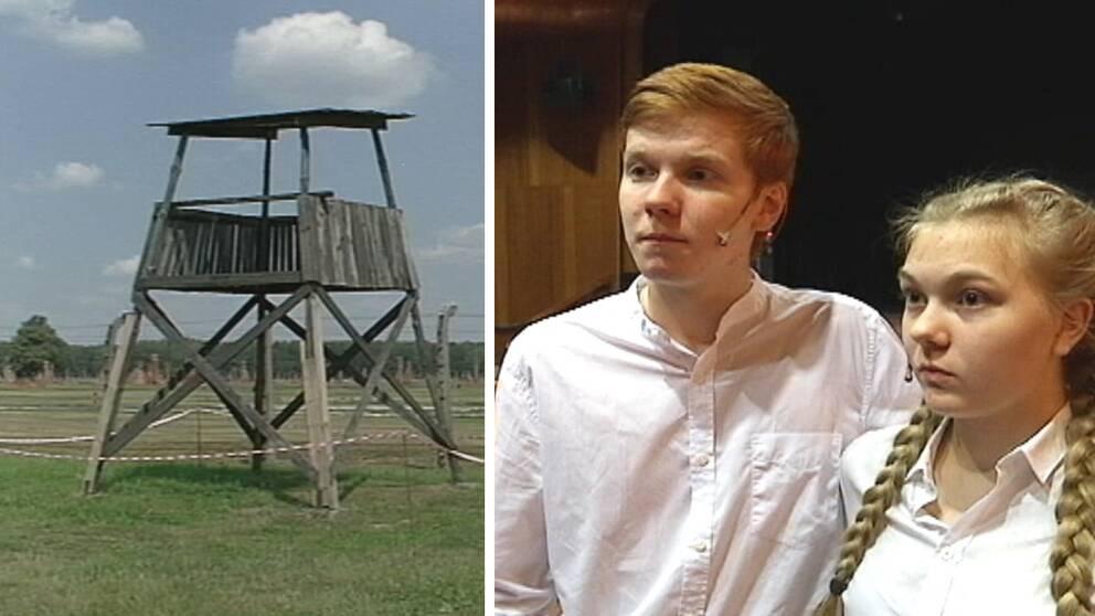 Se Ung Teaters egna bilder från resan till Auschwitz