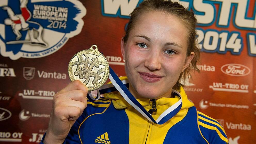 Johanna mattsson tog em brons i brottning