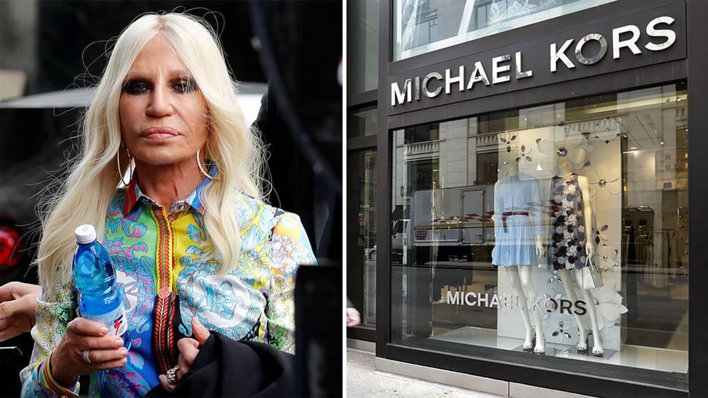 Donatella Versace är VD och chefsdesigner för Versace, som nu har köpts upp av Michael Kors.