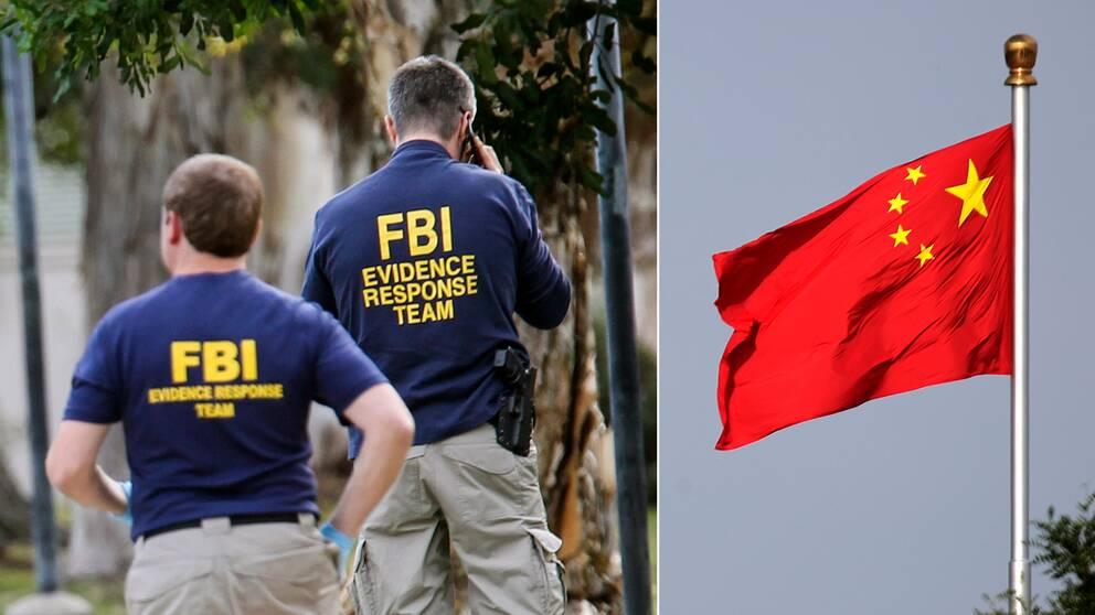 Enligt FBI ska mannen haft kontakt med en person från kinesisk underrättelsetjänst. Temabild.