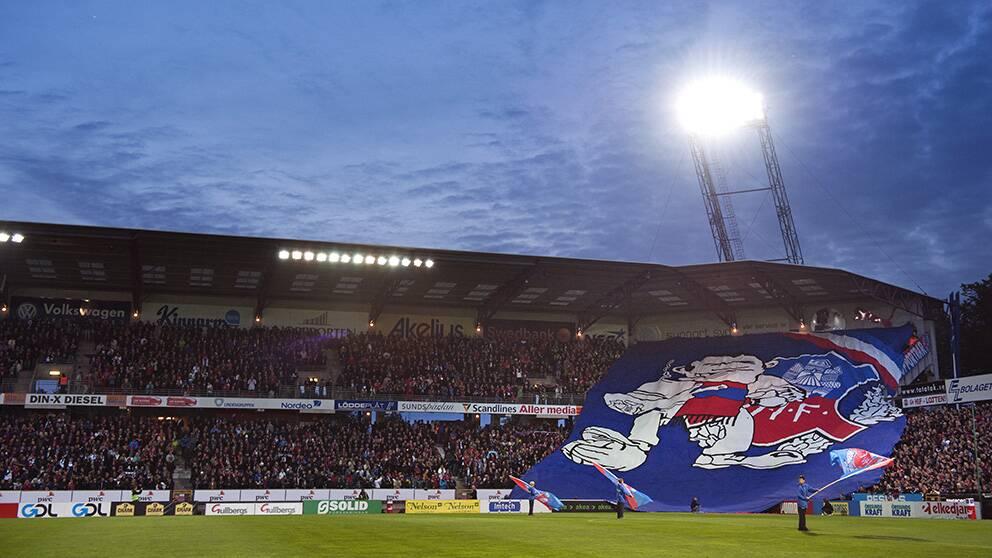 Helsingborg kommer att kräva att alla som besöker Olympia skriver på ett kontrakt om skötselregler. Foto: TT