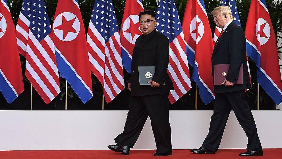 """""""Trump och Kim Jong-Un kan träffas de närmsta veckorna"""""""
