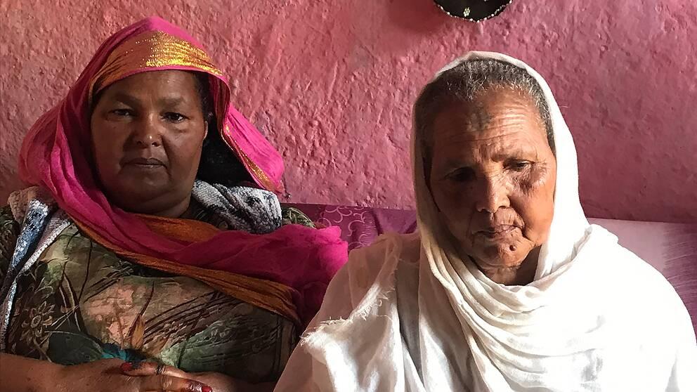 Systrarna Tebere och Tsadkan träffades för första gången på 21 år när gränsen mellan Etiopien och Eritrea öppnades.