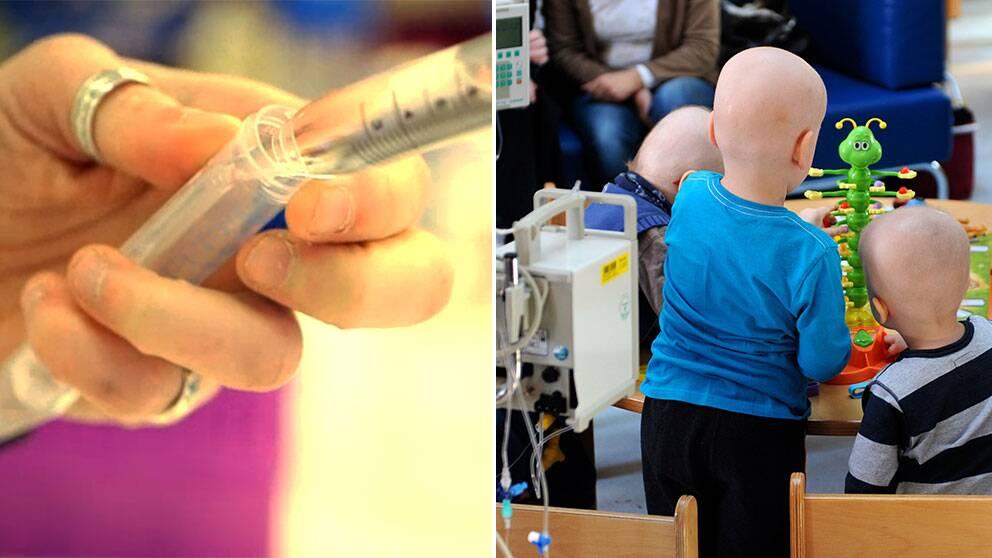 Svenska forskare ligger bakom ett helt nytt sätt att behandla cancer. TV-inslag – Reporter: Linus Brohult SVT Vetenskap, Redigering: Gustav Wachtmeister, Foto: Douglas Askelöf.
