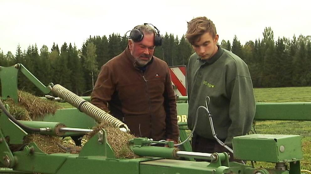 Patrik Ohlsson, ordförande på Lantbrukarnas riksförbund i Värmland, tror att sommarens foderbrist kommer att ge stora problem under vårvintern