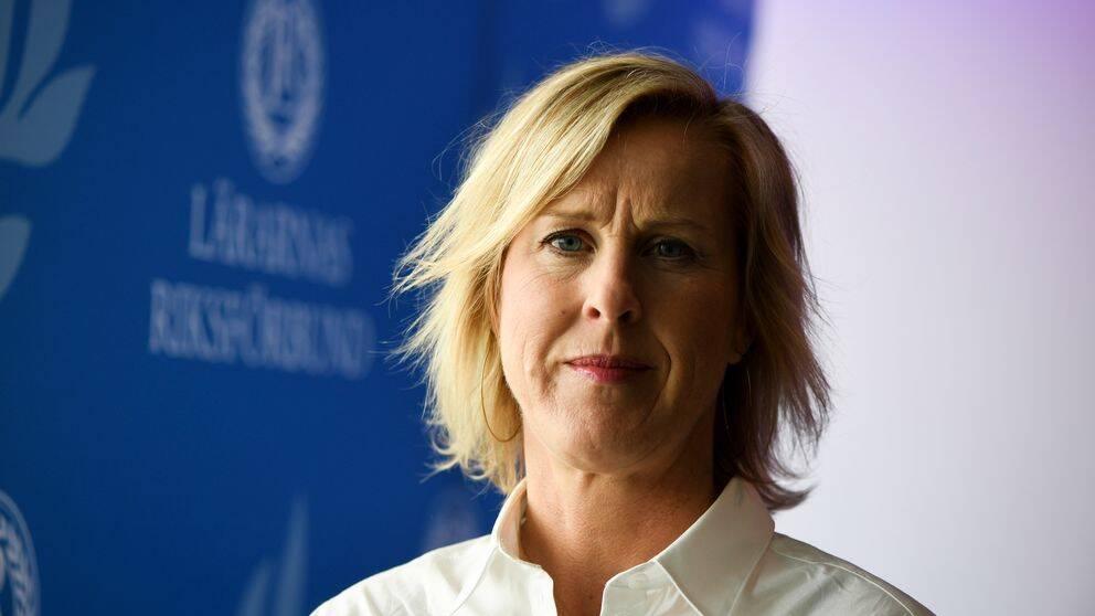 Åsa Fahlén, ordförande, för Lärarnas Riksförbund.