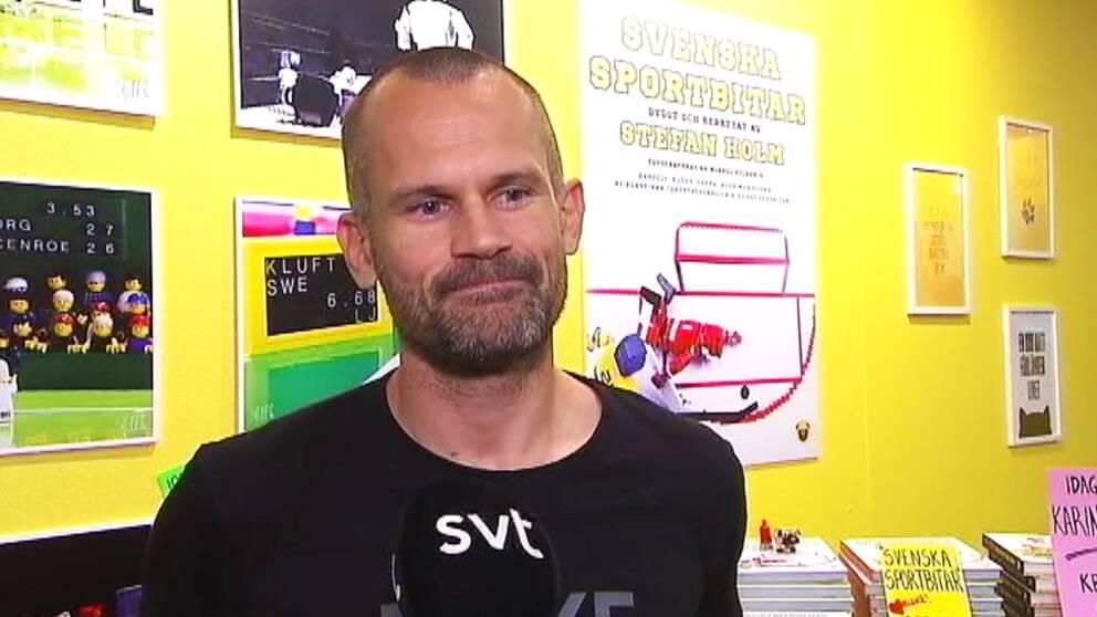 Stefan Holm berättar om sin legopassion