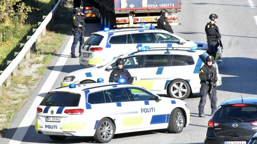 Polisinsats vid bostad i malmo grovt brott