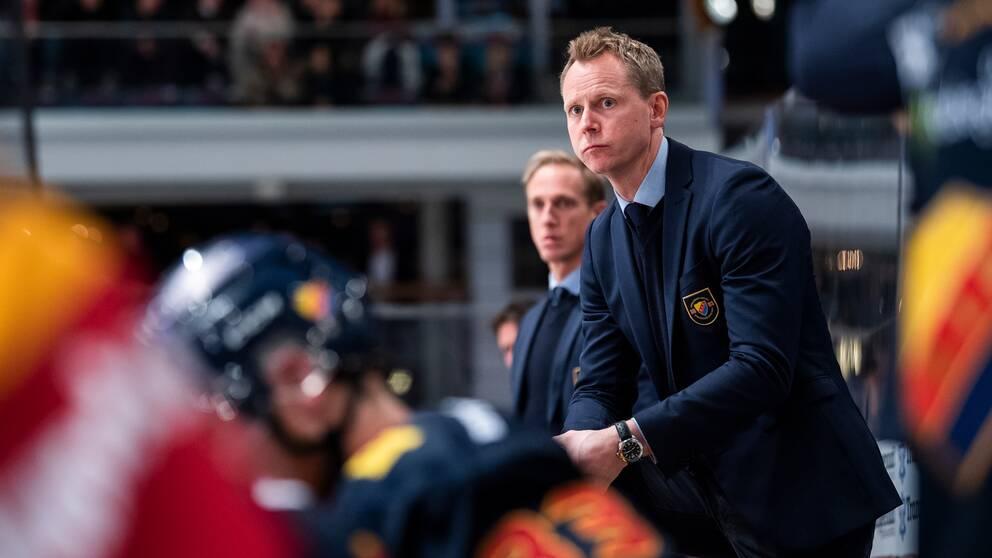 Djurgårdens tränare Robert Ohlsson.