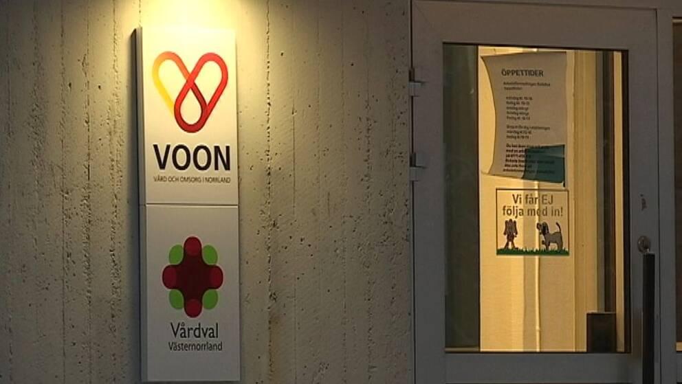 Voons nya vårdcentral i Sollefteå.