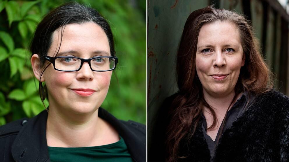 Elise Karlsson och Martina Montelius är två av de kvinnor som medverkade i DN-artikeln med vittnesmål mot kulturprofilen förra hösten.