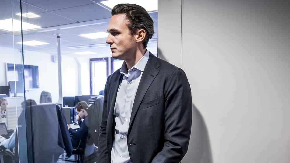 Alexander Ernstberger, vd för pensionsbolaget Allra Sverige AB.