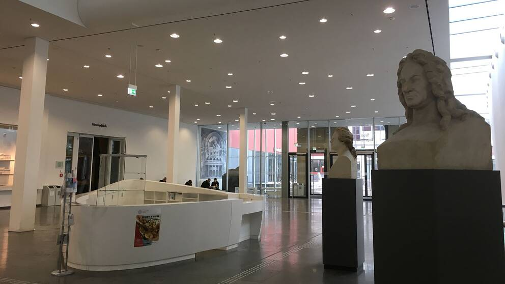 Det nya moderna universitetet i Leipzig vilar på en 600-årig bildningstradition.