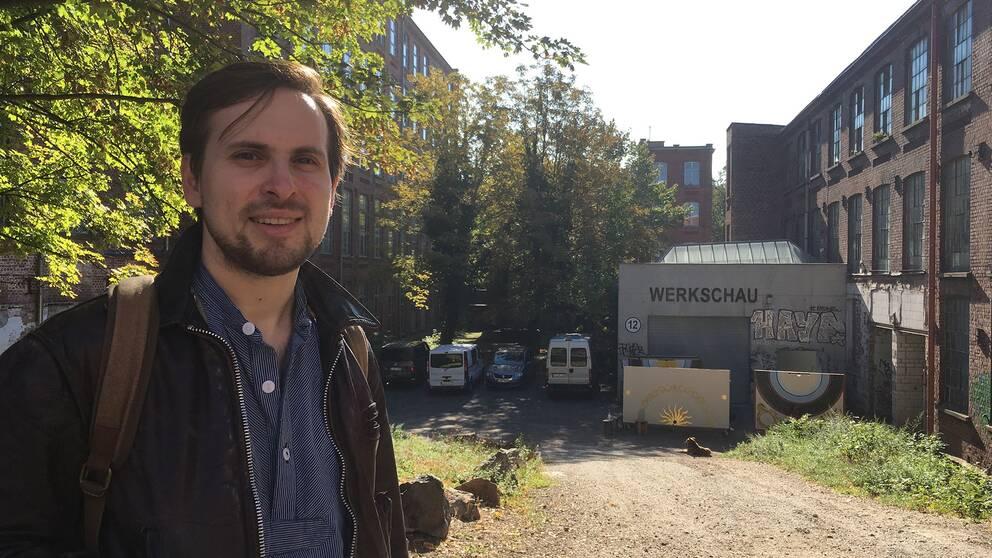 Jakub Simcik har etablerat sig som videokonstnär i Leipzig.