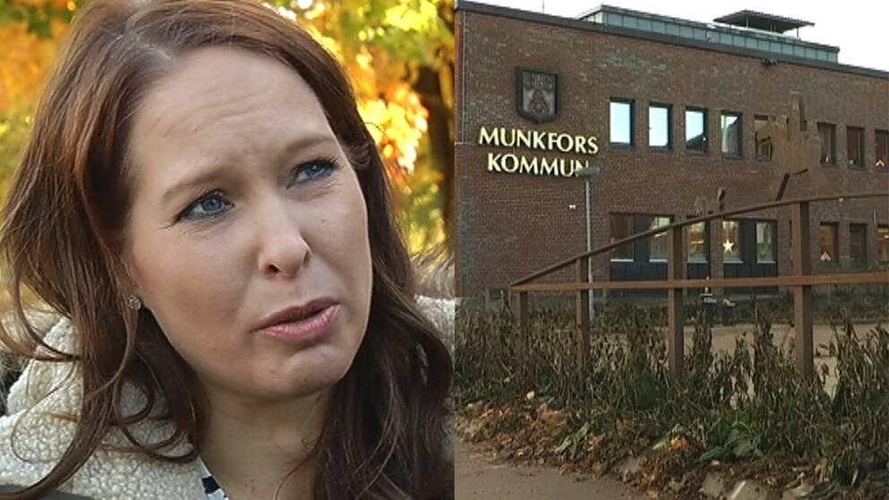 Annsa Falk, chef inom verksamhetsområdet lärande och stöd vid Munkfors kommun.