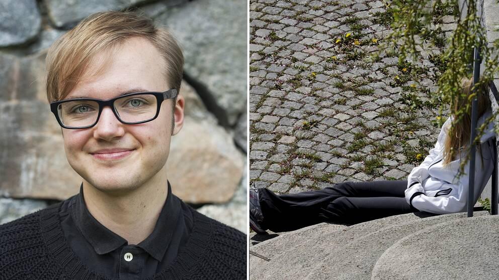 Frank Berglund är ordförande i RFSL Ungdom.